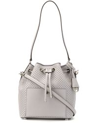 0cf218836a71 MICHAEL Michael Kors 'greenwich' Bucket Bag in Gray - Lyst