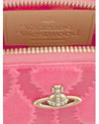 Vivienne Westwood | Pink 'squiggle' Round Make Up Bag | Lyst