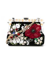 Dolce & Gabbana - Black 'vanda' Shoulder Bag - Lyst