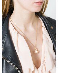 Vivienne Westwood - White 'antoinette' Pendant Necklace - Lyst