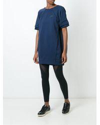 Nike - Blue 'tech Fleece' Dress - Lyst