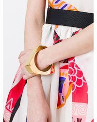 Marni - Metallic 'rigid' Bracelet - Lyst