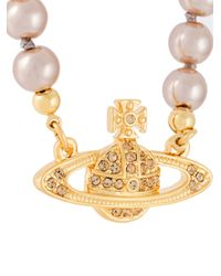 Vivienne Westwood - Metallic 'kika' Pendant Necklace - Lyst