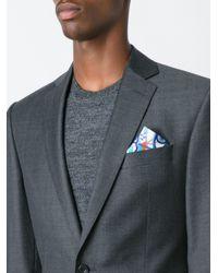 Kiton - Blue Poch Handkerchief for Men - Lyst