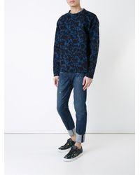 Ksubi - Blue Ksubi Chitch Mid Rise Skinny Jeans for Men - Lyst