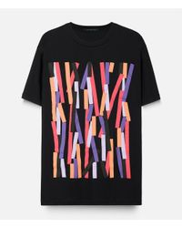 Christopher Kane - Black Broken Bolster Frame T-shirt for Men - Lyst