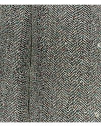 Christopher Kane - Gray Crazy Tweed Mac for Men - Lyst