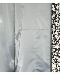 Christopher Kane - Gray Reflective Grid Bomber for Men - Lyst