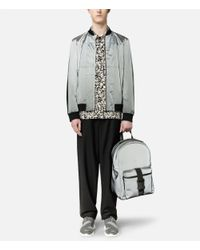 Christopher Kane - Gray Reflective Safety Buckle Backpack for Men - Lyst