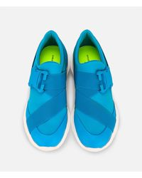 Christopher Kane - Blue Tonal Low-top Sneakers for Men - Lyst