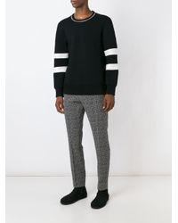 Soulland - Black 'kreuzberg' Trousers for Men - Lyst