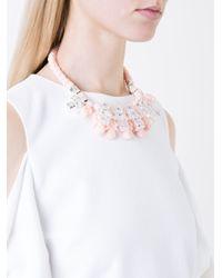 EK Thongprasert - Natural Stone Embellished Necklace - Lyst
