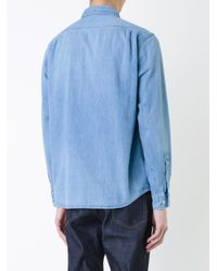 Bedwin And The Heartbreakers - Blue Denim Shirt for Men - Lyst