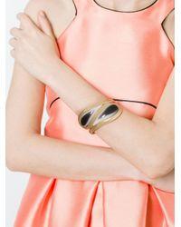 Etro - Black Cuff Bracelet - Lyst