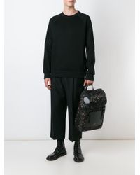 Givenchy - Black Zip Detail Sweatshirt for Men - Lyst