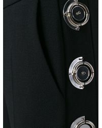 David Koma - Black Studded Flared Trousers - Lyst