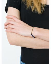 Natasha Collis - Blue 'precious' Diamond, Sapphire & Emerald Friendship Bracelet - Lyst