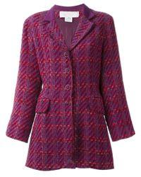 Nina Ricci Multicolor Checked Jacket