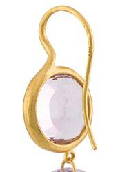 Marie-hélène De Taillac   Pink Double Circles Earrings   Lyst