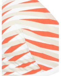 La Perla - White 'Op-Art' Triangle Bikini Top - Lyst