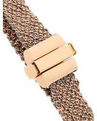 Carolina Bucci - Gray 18kt Rose Gold 'woven' Bracelet - Lyst