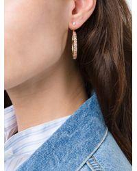 Yvonne Léon - Metallic Yvonne Léon 'rainbow' Sapphire Lobe Earring - Lyst