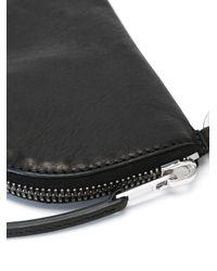 Rick Owens - Black Neck Strap Wallet for Men - Lyst