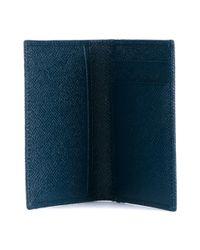 Dolce & Gabbana - Blue 'dauphine' Billfold Wallet for Men - Lyst