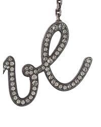 Lanvin Metallic Iconic 'love' Necklace