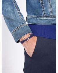 Miansai   Blue Anchor Wrap Bracelet for Men   Lyst