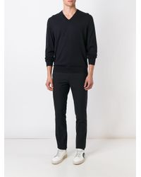 Paul Smith - Blue - V-neck Sweater - Men - Merino - L for Men - Lyst