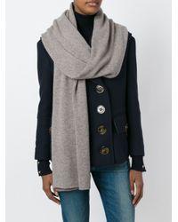 Fashion Clinic | Multicolor Plain Scarf | Lyst