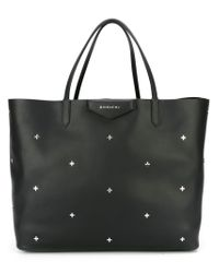 Givenchy - Black Large 'antigona' Shopper Tote for Men - Lyst
