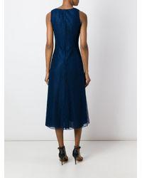 Tory Burch - Blue 'iliana' Dress - Lyst