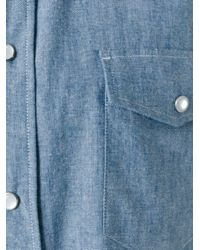 Marc Jacobs - Blue Chambray Shirt for Men - Lyst