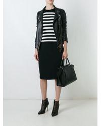DSquared² - Black Classic Pencil Skirt - Lyst