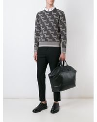 Thom Browne - Gray Dog Print Sweatshirt for Men - Lyst
