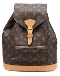 Louis Vuitton - Brown Medium 'montsouris' Backpack - Lyst