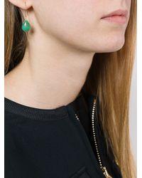 Uzerai Edits - Green Chrysoprase Earrings - Lyst