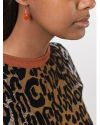 Uzerai Edits - Red Agate Earrings - Lyst