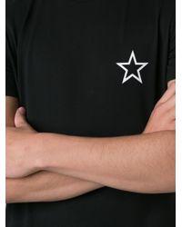 Givenchy - Black Star Print T-shirt for Men - Lyst