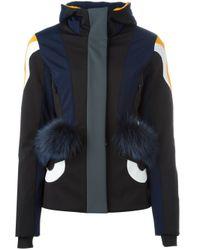 Fendi - Blue Bag Bugs Puffer Jacket - Lyst