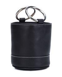 Simon Miller - Black Mini Barrel Tote - Lyst