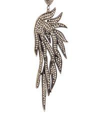 Carole Shashona - Black 'fire Wing' Diamond Earrings - Lyst