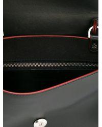 Emilio Pucci - Black Panelled Satchel Bag - Lyst
