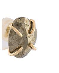 Melissa Joy Manning | Multicolor Freeform Pyrite Post Earrings | Lyst