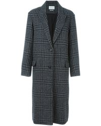 Étoile Isabel Marant Black 'garth' Coat