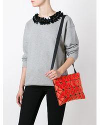Bao Bao Issey Miyake - Red 'prism' Shoulder Bag - Lyst