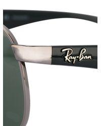 Ray-Ban Black Square Frame Sunglasses for men