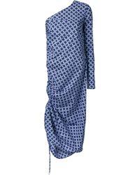 Georgia Alice   Blue 'Snake' Dress   Lyst